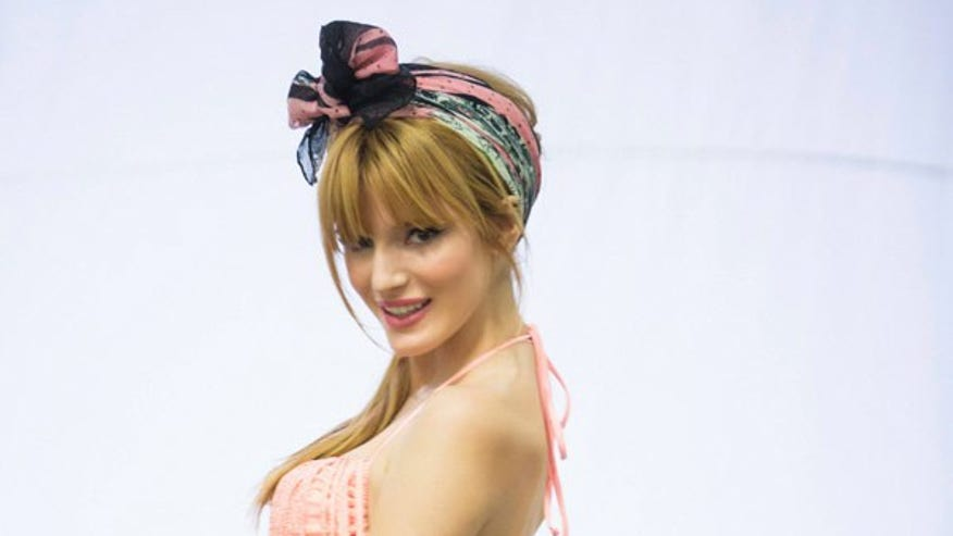 Bella Thorne Poses In An Ad For Candie S