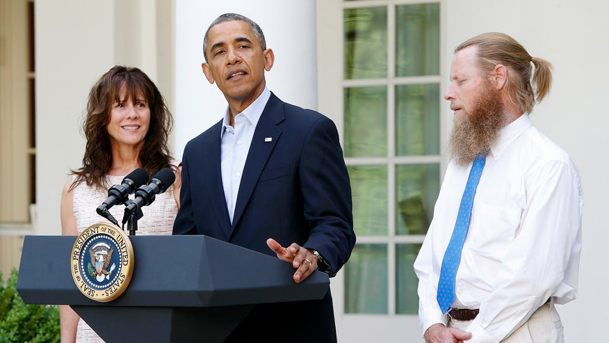 bergdahl parents obama reuters.jpg