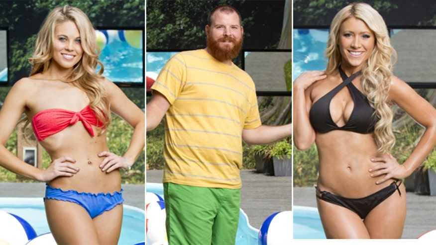 big brother cast members caught on camera making racist