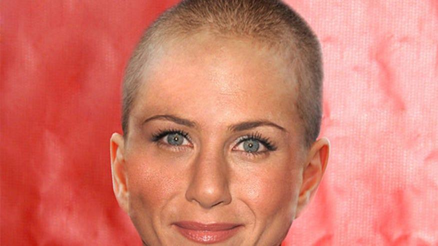 aniston shaved Jennifer