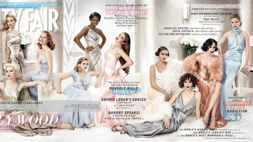 vanity fair young hollywood cover