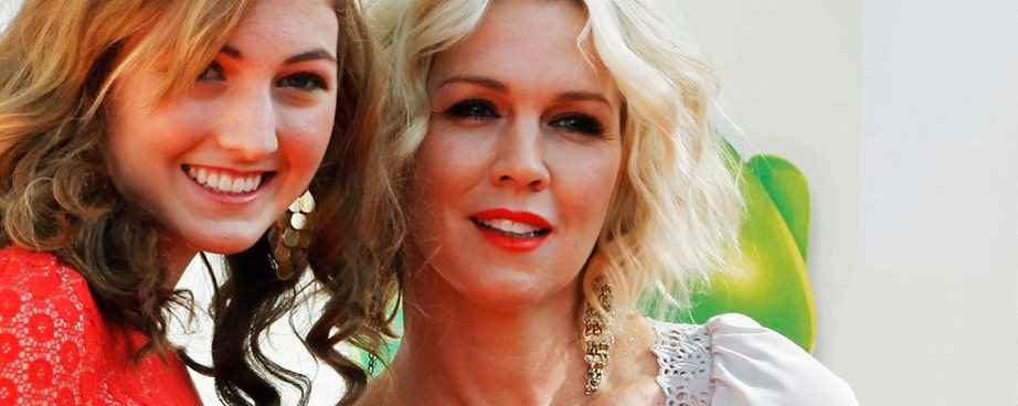 Jennie Garth has played many roles, but her most important is being a mom.