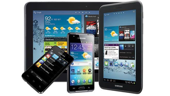 Samsung Galaxy Lineup