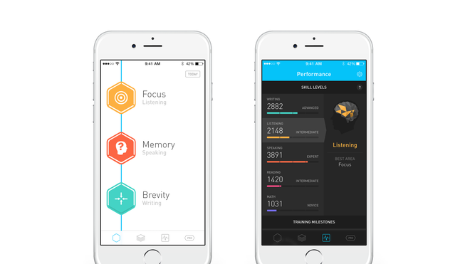 Elevate builds communication and analytical schools with daily mobile games.