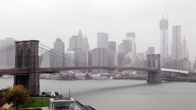 Hurricane Sandy NYC Skyline