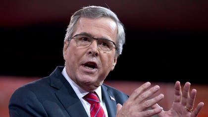 Former Florida Gov. Jeb Bush offered skepticism for some conservatives' efforts to block funding for the Department of Homeland Security unless President Barack Obama's actions of immigration are derailed.