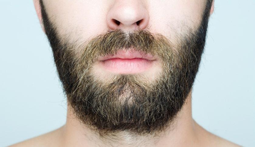 Борода - природный барьер для микробов.