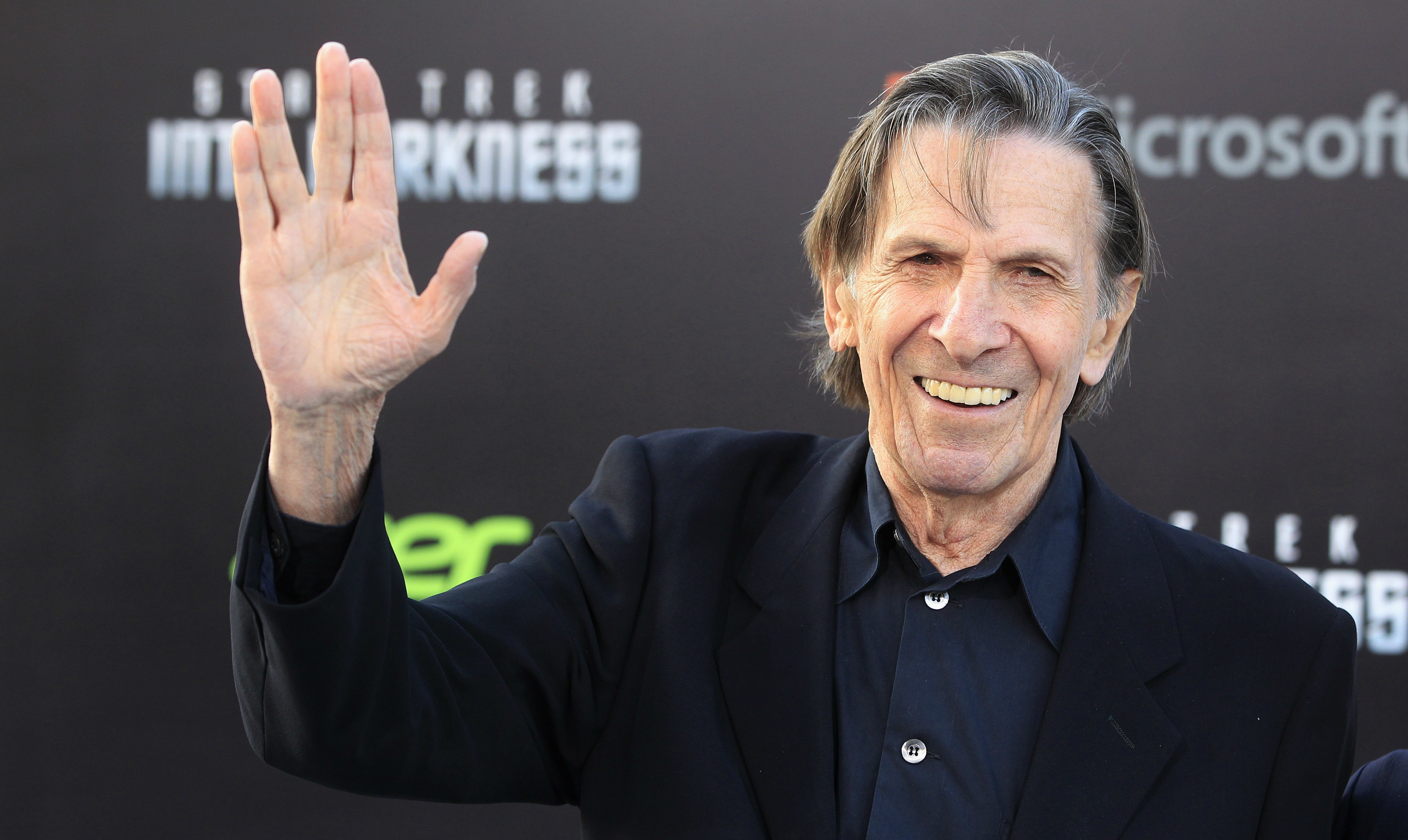 Leonard Nimoy, Spock of 'Star Trek' Dies at 83.
