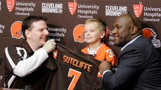 The Cleveland Browns signed their youngest player ever on Tuesday
