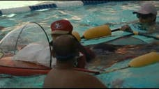 SAN LUIS OBISPO, Calif.- A California man who has cerebral palsy will swim competitively in a triathlon for the first time with the help of an invention made by three California Polytechnic State University students.