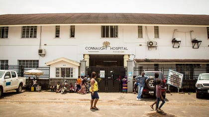Shoppers crowded streets and markets in Sierra Leone's capital on Thursday stocking up for a three-day shutdown that authorities will hope will slow the spread of the Ebola outbreak that is accelerating across West Africa.