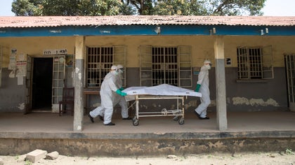 The death toll from Ebola in the three worst-affected countries in West Africa has risen to , among , cases known to date there, the World Health Organization said on Saturday.