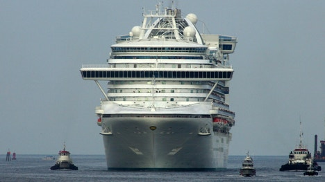Officials say more than three dozen people are possibly ill with the highly contagious norovirus while onboard a cruise ship sailing to ports in California.