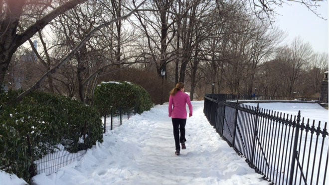 Running in the snow: Is it worth the risk?