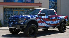 Trucks don't get more American than this.