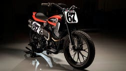 Harley-Davidson's newest bike is ready to go flat-out.