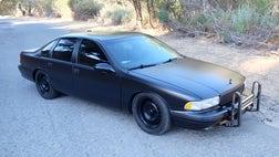 It doesn't have a cop motor, cop tires, cop suspension, or cop shocks.