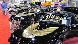 One thing you'll find plenty of at the Barrett-Jackson Las Vegas Auction is Pontiac Firebird Trans Ams from the late 's.