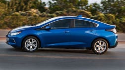 You may not have heard it, but there's a new Chevy Volt on the road.