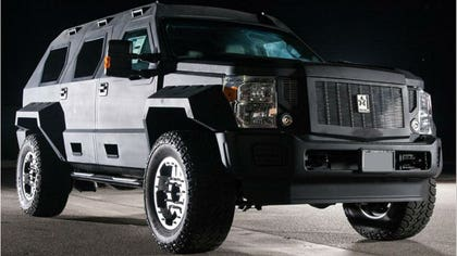 Does the Ford Super Duty not look enough like a superhero for you?
