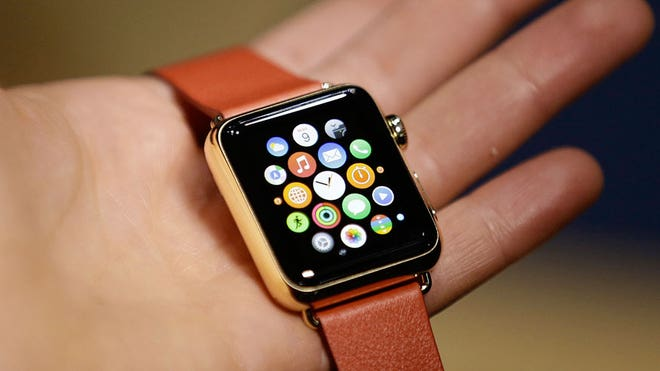 You're driving home one evening after a long day at work when suddenly your Apple Watch massages your wrist to get your attention.