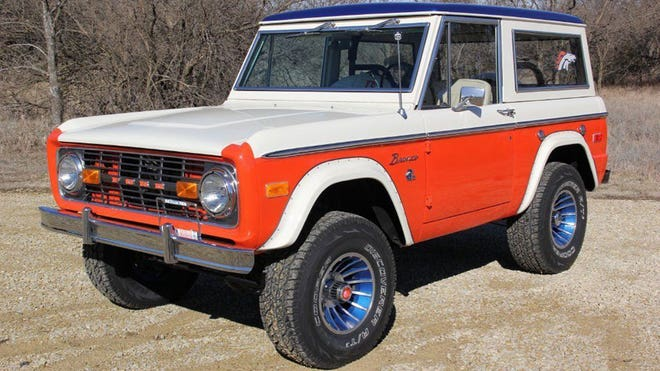 How much Budweiser fits in the back of a Bronco?