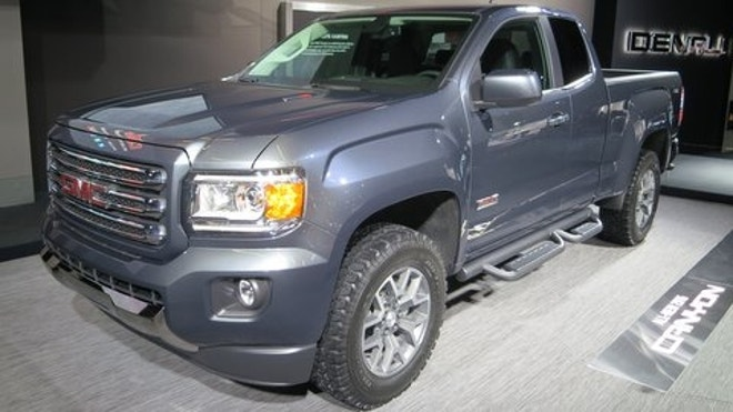 2015 gmc canyon reveal - midsize - diesel power, Perhaps brave and