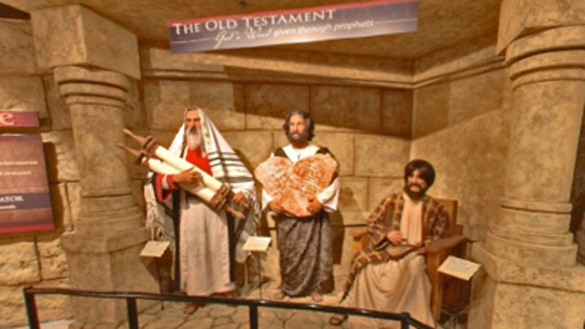 A Scene from the Biblical Authority Room at the Creation Museum