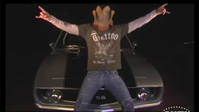 Bret Michaels' Camaro