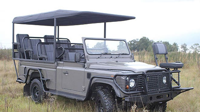 Axeon Electric Land Rover Defender