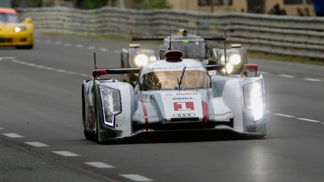 High tech cars of the 24 Hours of Le Mans