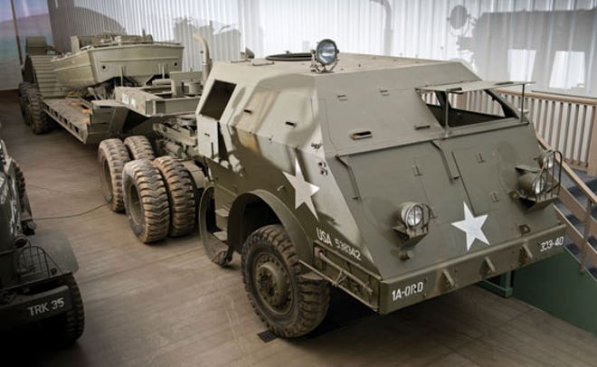 Ww Ii Vehicles Battle For Bids At Auction Car And Truck