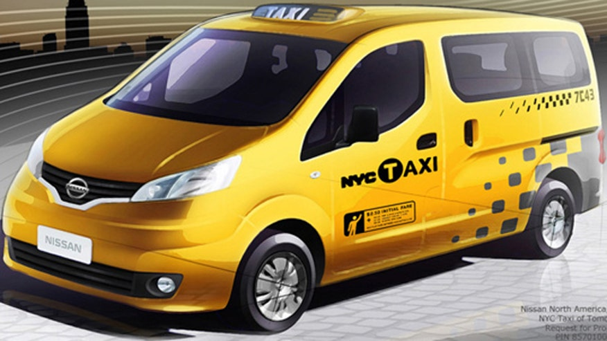 Nissan Taxi of Tomorrow