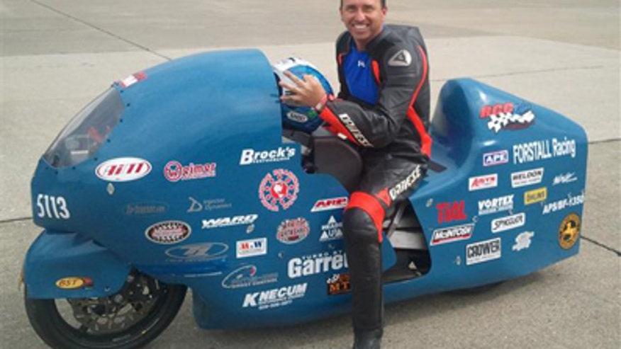 Bill Warner 300 mph motorcycle