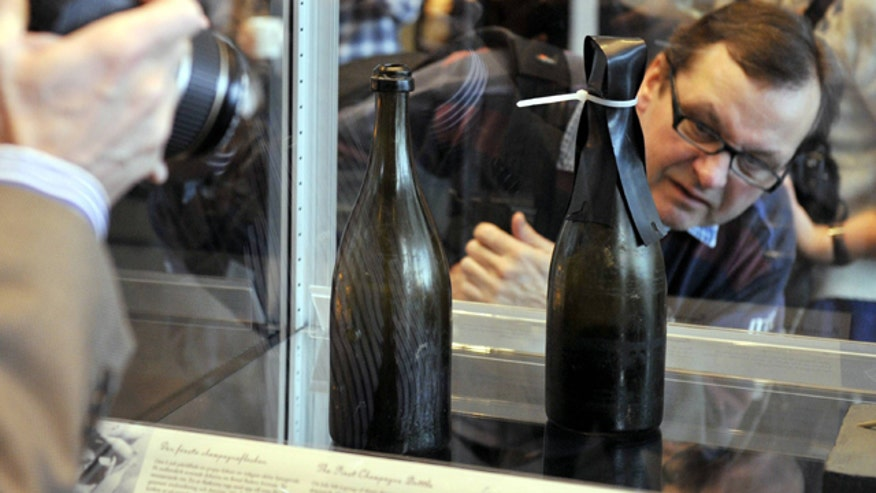 200-Year-Old Champagne