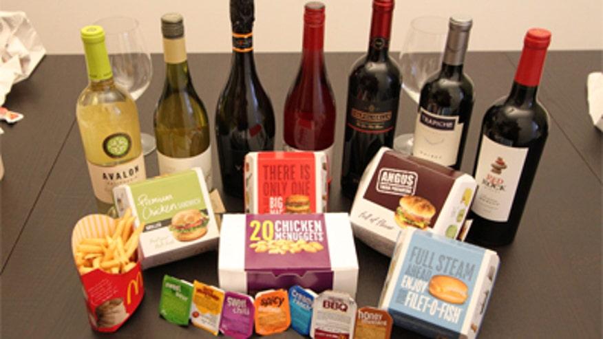 Fast Food Wine