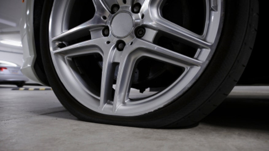 low tire pressure
