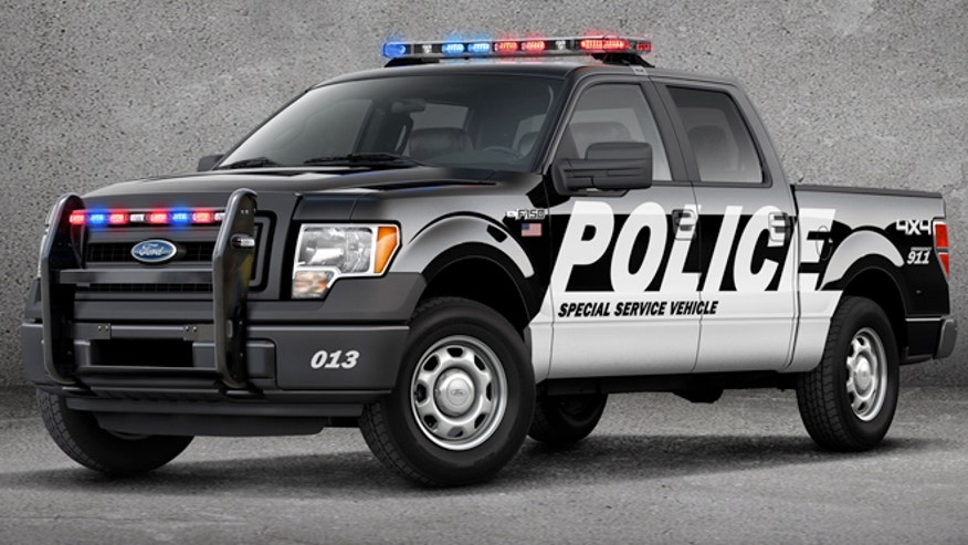 Ford Police Puppy Truck Law Enforcement Current Events