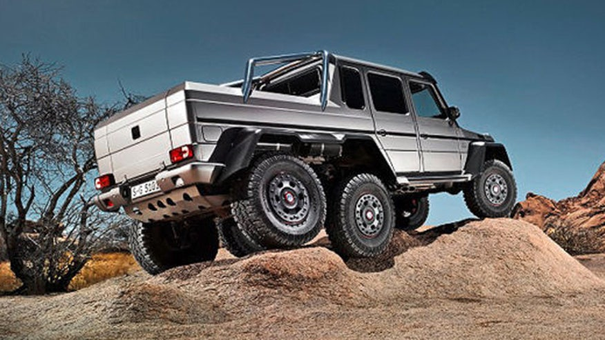 Image gallery mercedes 6x6 for Mercedes benz g wagon 6x6