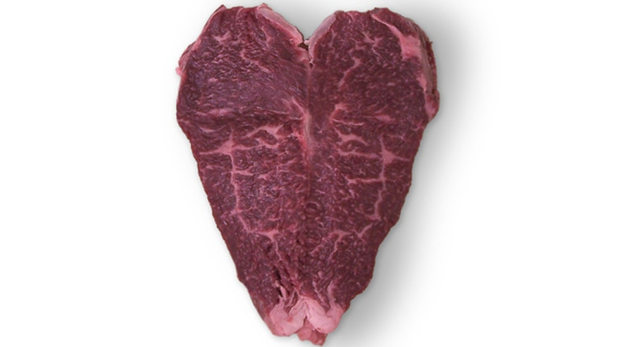 Lobels Heart-Shaped Steak
