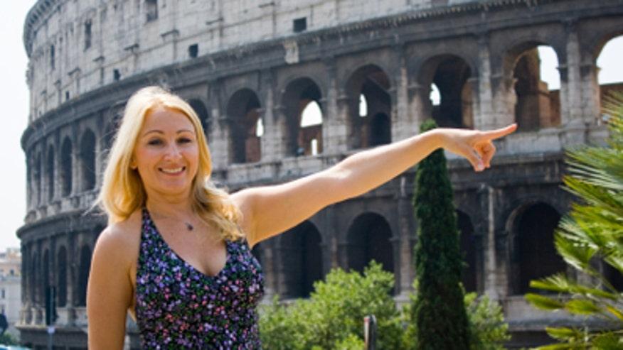 Woman in Rome