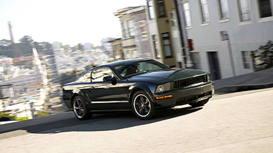 2008 Ford Mustang on the streets of San Francisco