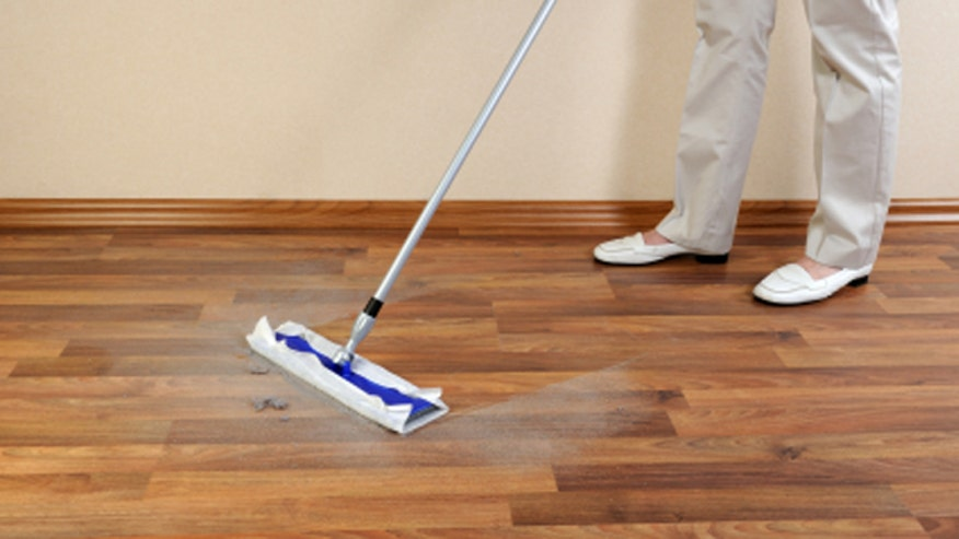 A low-cost cleaning solution to maintain hardwood floors without hassle.