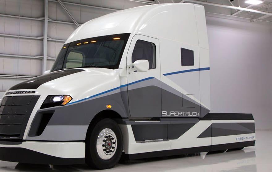 SuperTruck hauls goods, sips fuel - Fuel Economy