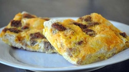 Breakfast casseroles are a great dish to feed a lot of people at once and are a real time saver when things get hectic around this time of year.