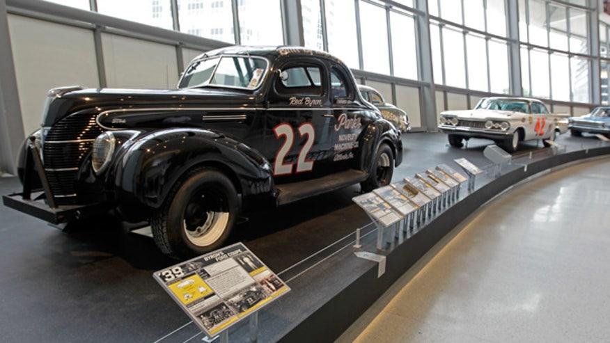 Nascar's first winning car