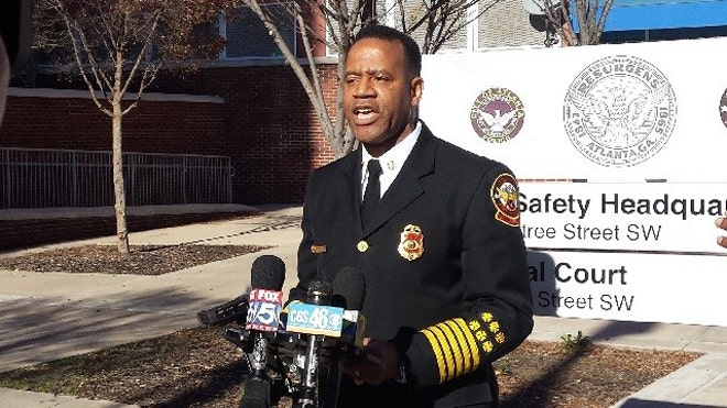 Former Atlanta Fire Chief Kelvin Cochran says he was fired because he wrote a book expressing his Christian faith, according to a discrimination complaint filed Jan.  with the Equal Employment Opportunity Commission.
