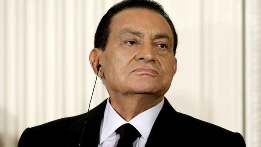Egypt President Mubarak President Hosni Mubarak