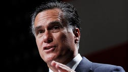 The author writes [Romney's] warm fuzzies abound until you 'rewind' back to the Republican primary debates where the former Massachusetts governor attempted to 'out conservative' his competitors.
