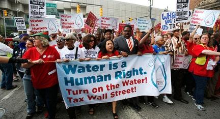 Detroit officials bristle at UN visit, scolding over water shut-offs